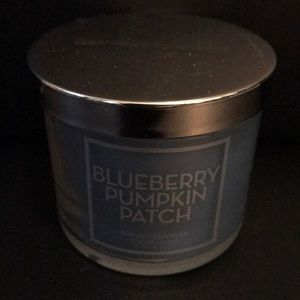 NEW BLUEBERRY PUMPKIN PATCH Bath Body Works Candle
